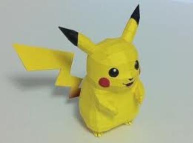 pikachu papercraft | Art Design and Craft