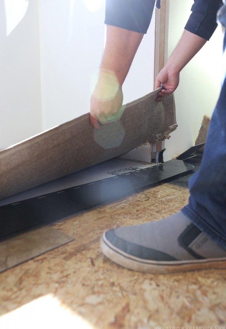 Ho To Replace Rv Flooring Camper Flooring Camper Repair Remodeled Campers