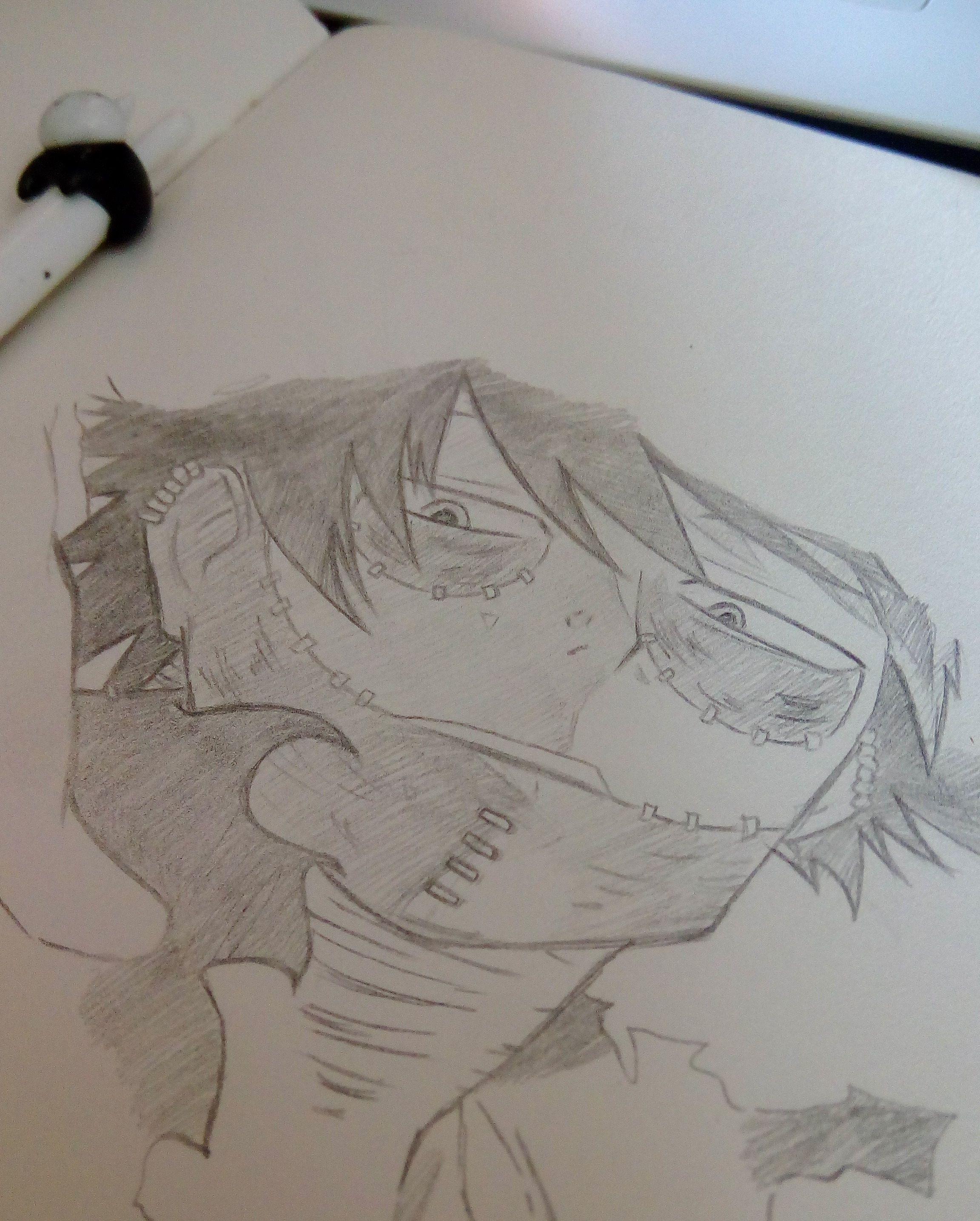 My Hero Academia Drawing Easy Pencil Drawingsketch101 Com In 2020 Easy Drawings My Hero My Hero Academia