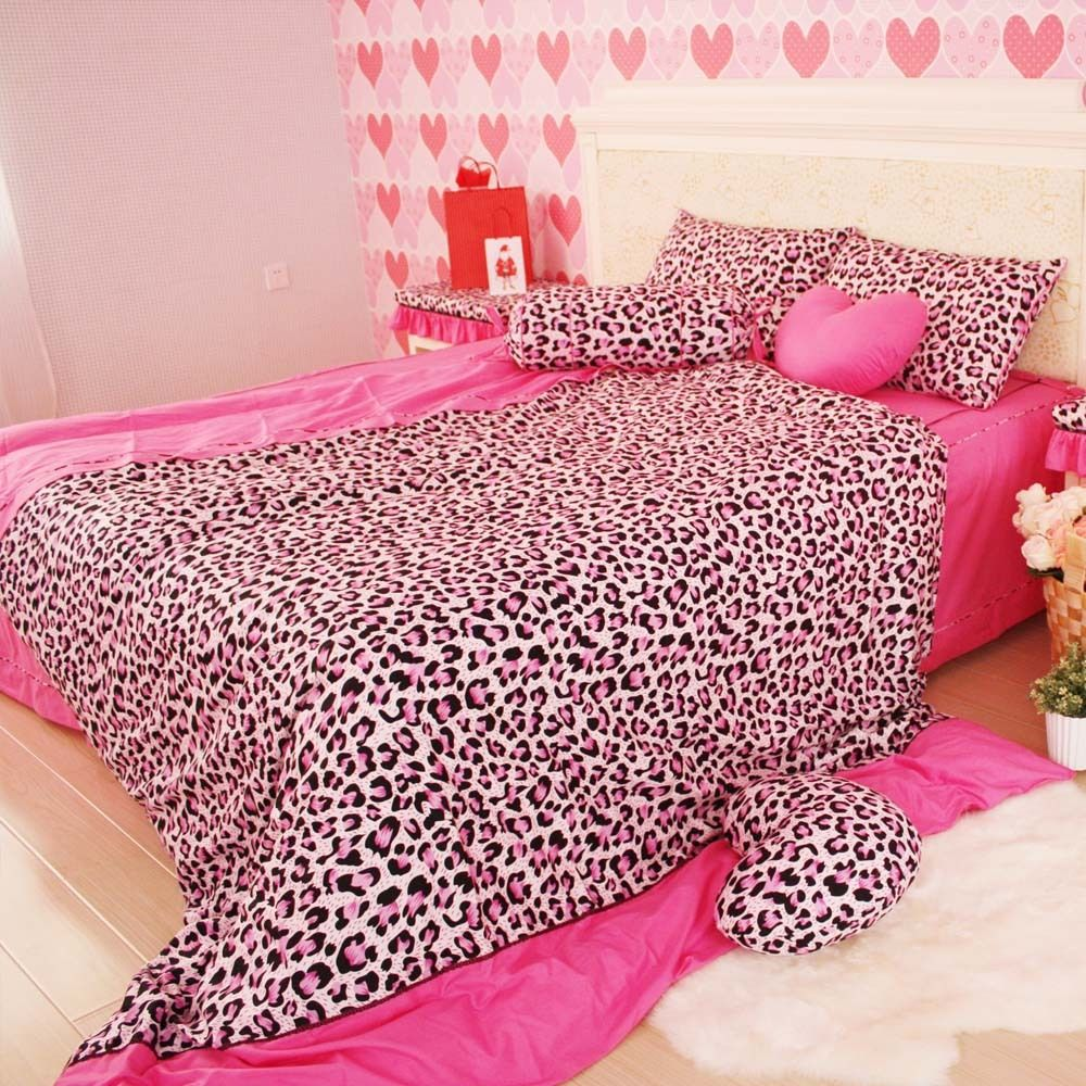 Animal print bedroom sets - Cheap Bedding Twin Buy Quality Print Cap Directly From China Bedding Importer Suppliers Modern Sexy Leopard Print Comforter Set Korean Pink Bedding Sets
