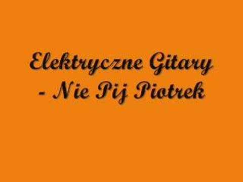 Elektryczne Gitary Nie Pij Piotrek Youtube Arabic Calligraphy Calligraphy