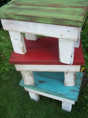Lots of neat ideas on this site (glow in the dark paint for outside furniture)