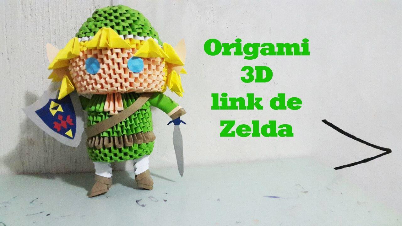 Origami Legend Of Zelda Instructions Tutorial Lets Make It Link By Wakeangel2001 On Deviantart The