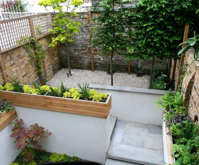 Dise o jardines exteriores peque os casa dise o for Jardines exteriores pequenos