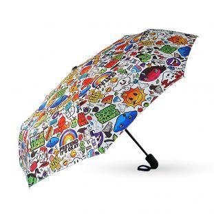 Snygga paraplyer- Dandy Frog