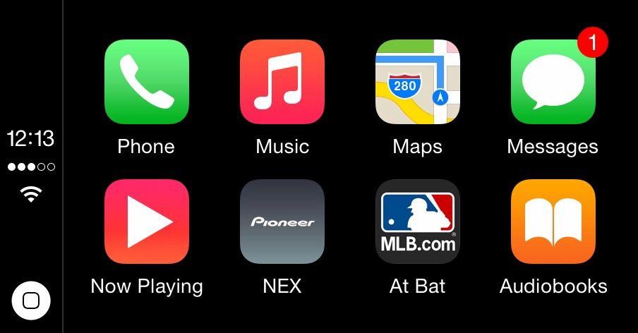 CarPlay support added to MLB At Bat iPhone app Apple car