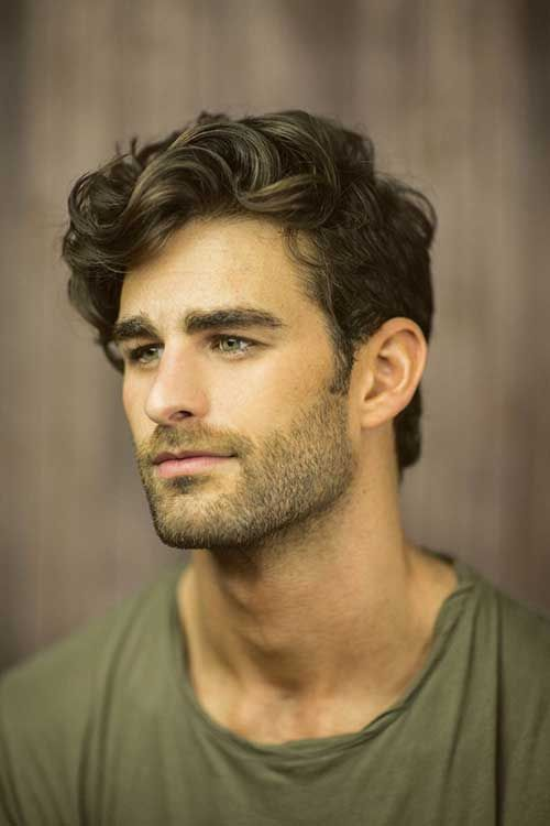 40 Hairstyles for Thick Hair Men\'s | Mens Hairstyles | Wavy hair men ...