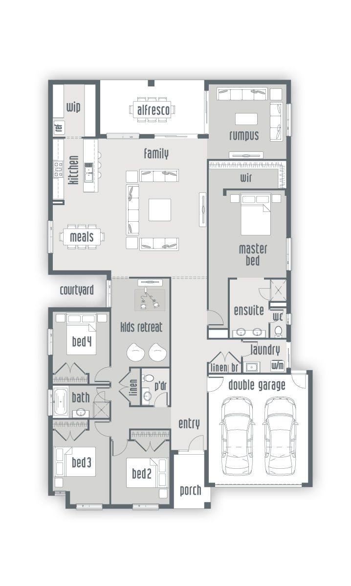 lincoln 32 new home floor plans interactive house plans building house kelten new home designs urbanedge homes melbourne builders