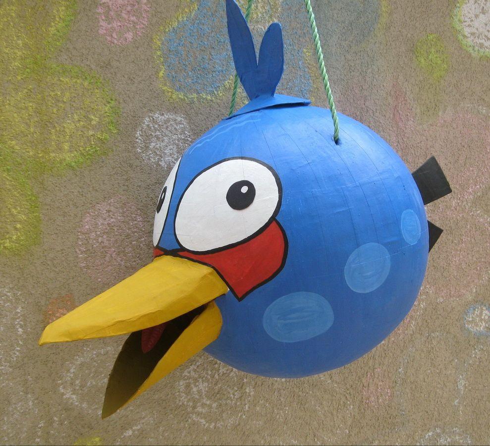 how to make a bird pinata