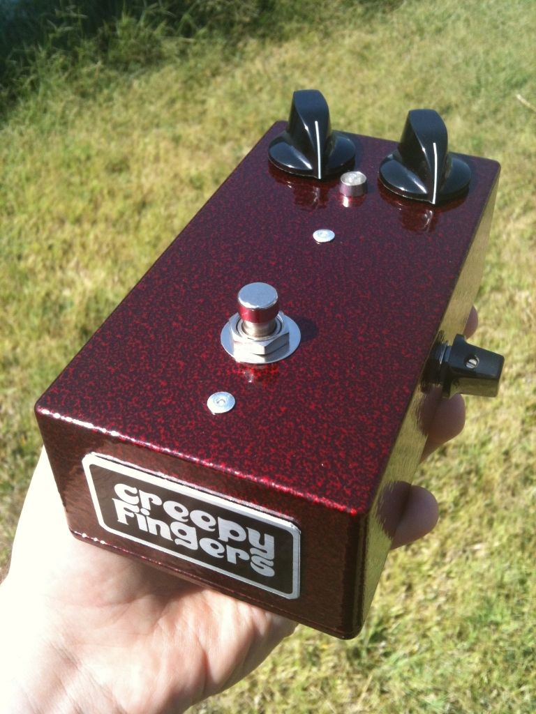 Creepy Fingers Si Fuzz Face with tone control | Other Pedals ...