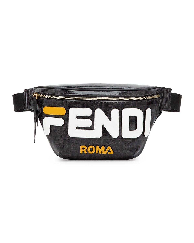 29e912c61c63 FENDI MEN S FENDI MANIA COATED CANVAS BELT BAG FANNY PACK.  fendi  bags