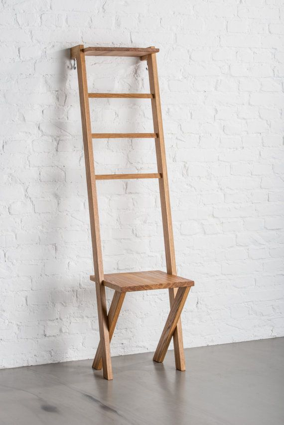 TB.2 Modern day Valet Stand/ Ladder Chair in Oak in 2019 ...