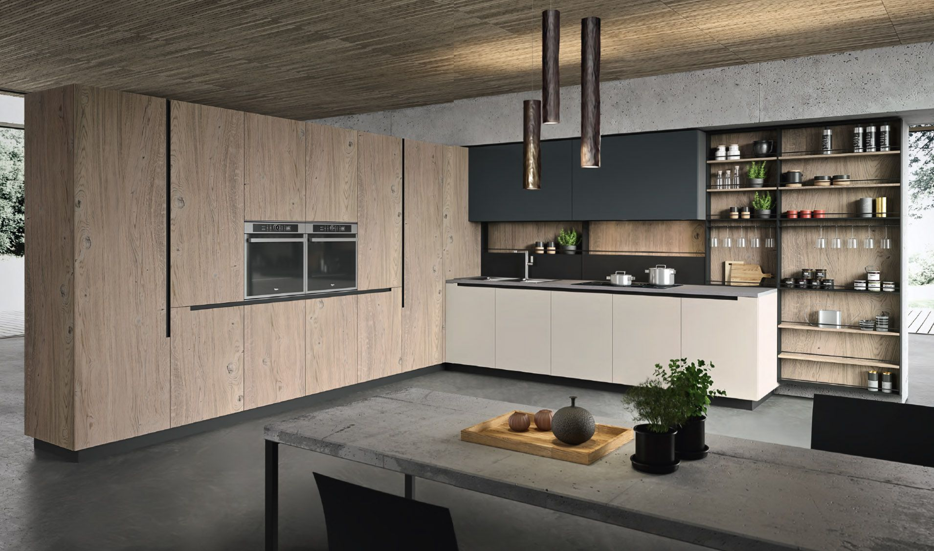 Introducing the new Lab 13 kitchen from Aran Cucine at