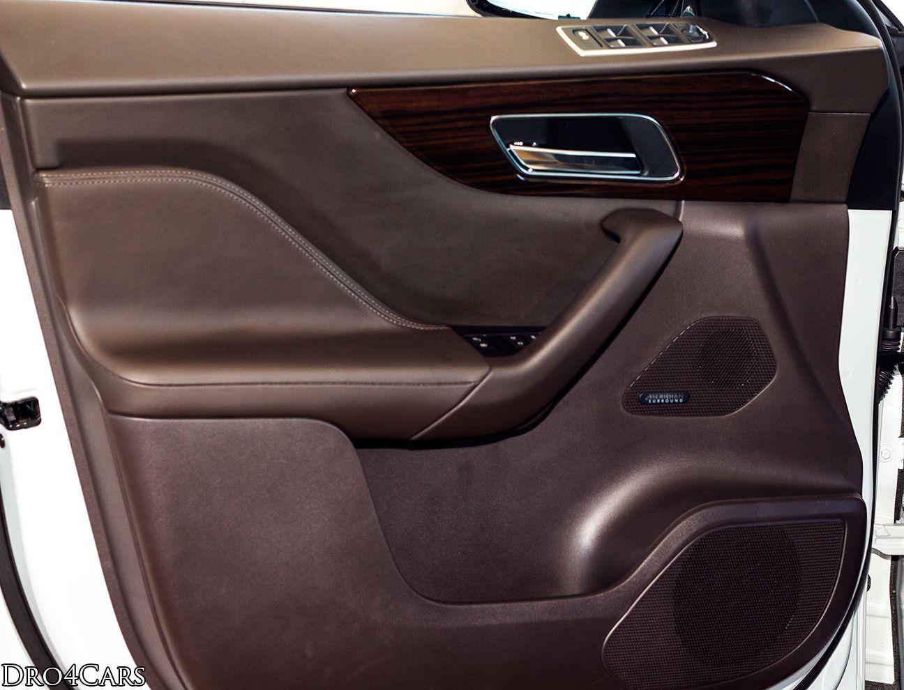 The Driver S Door Panel Of The Jaguar Fpace Jaguar Car Seats Diesel Engine