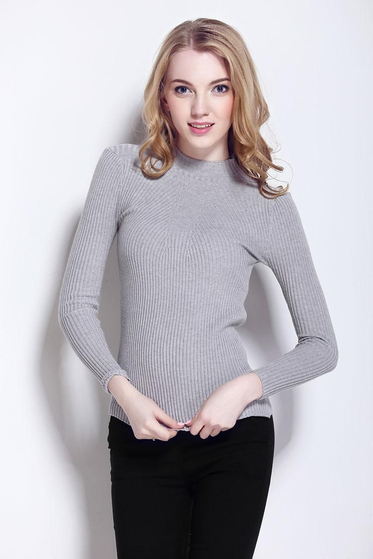 Women Spring Cashmere Knitted Sweaters Cashmere Sweater Pullovers ...