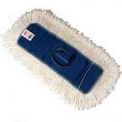 Dust Mop Heads Kut A Way White 24 X 5 Cut End Cotton By