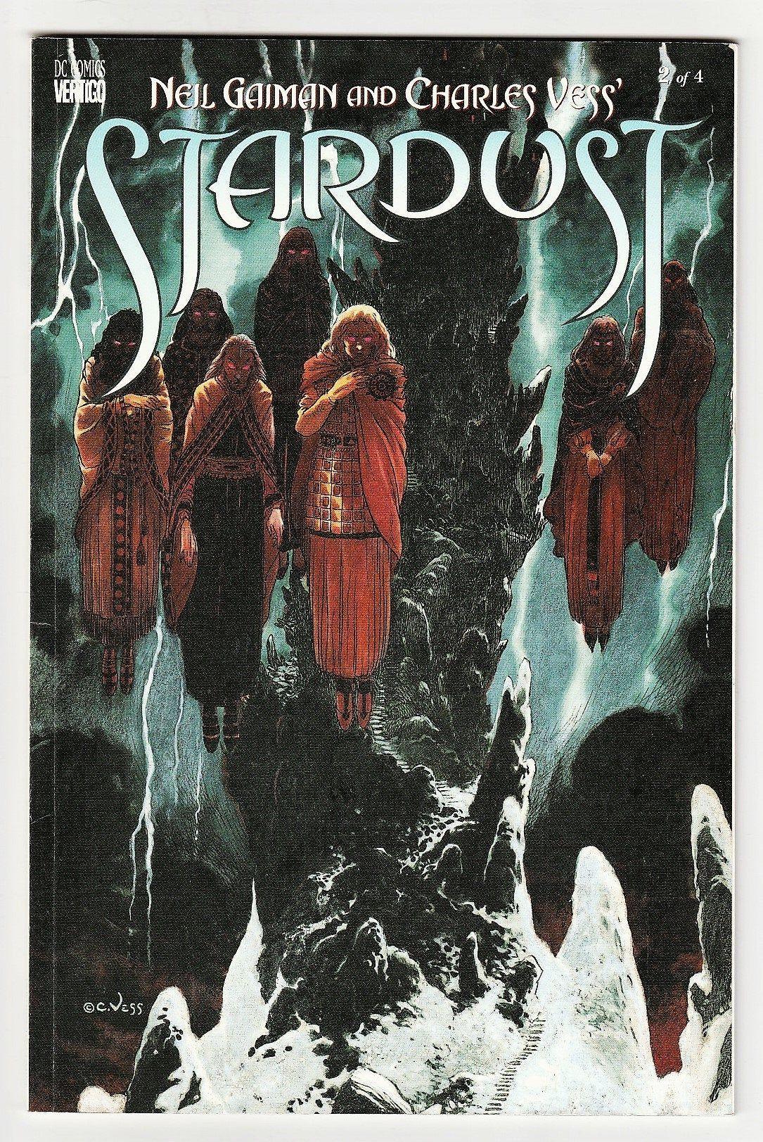 Stardust Book 2 Signed by Neil Gaiman DC Vertigo Prestige ...