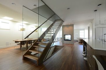 Contemporary   Fifth Element Homes. Stair LiftCalgaryStaircasesStairs