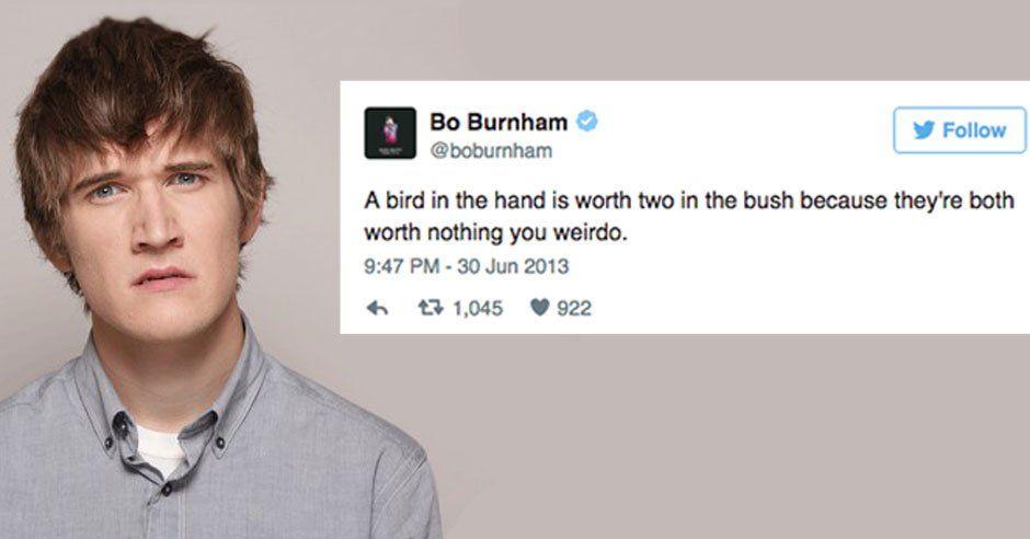 14 Bo Burnham Tweets To Tickle Your Tum Tum