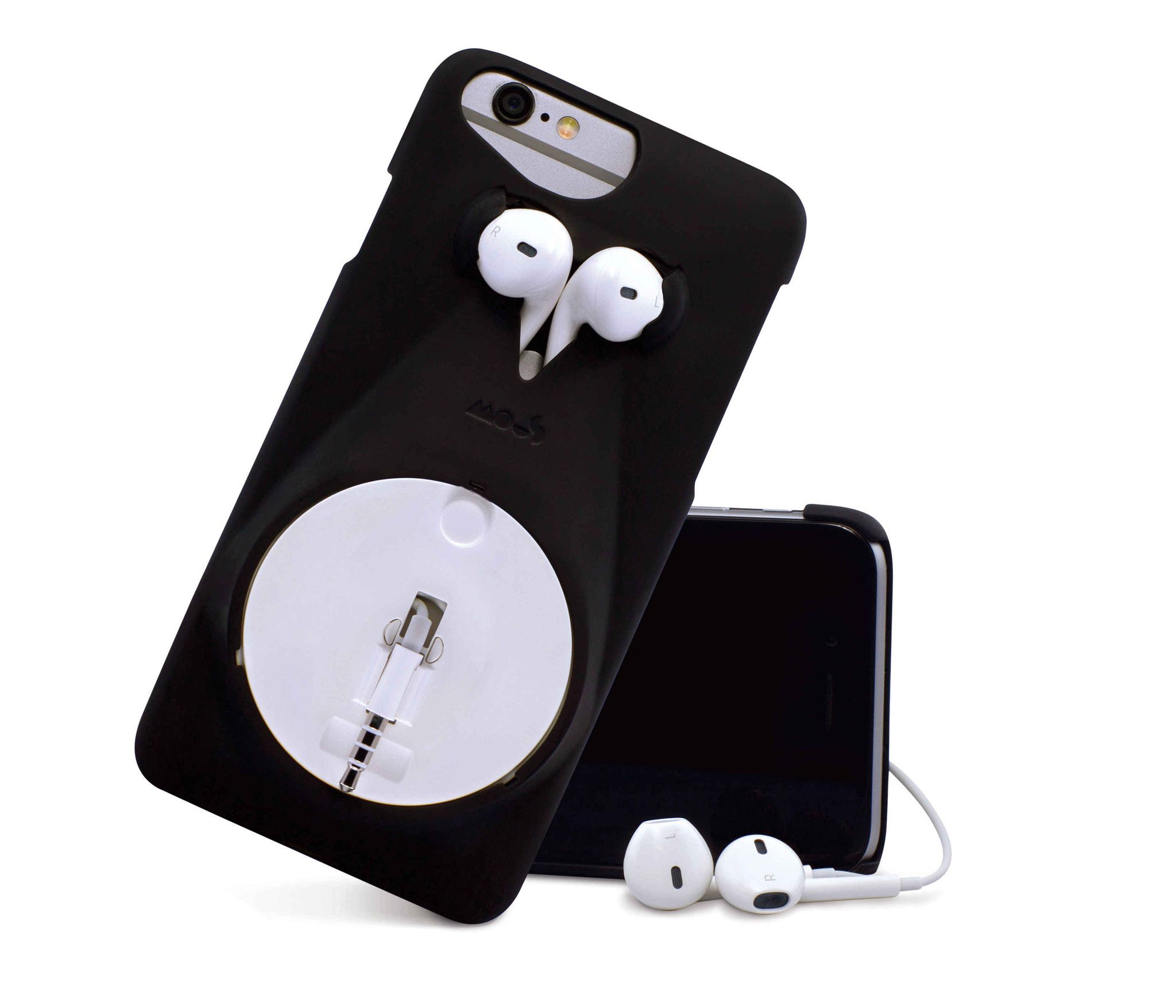 Phone Case That Holds Headphones iPhone 6/6s Mous