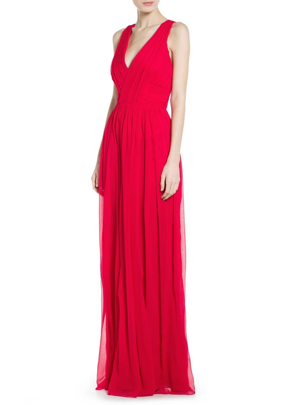 1fd66f25afc91 Robe longue soie - Femme