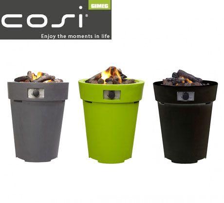 Cosi Fires CosiDrum 70 - Gas-Feuerstelle Garten Pinterest