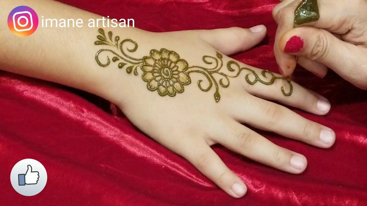 Henna Tutorial Simple Henna Mehendi Design For Beginer Unique Henna Art Unique Henna Henna Tutorial Henna