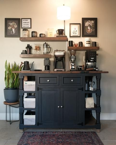 Incredible Home Coffee Bars To Inspire Your Next Redesign