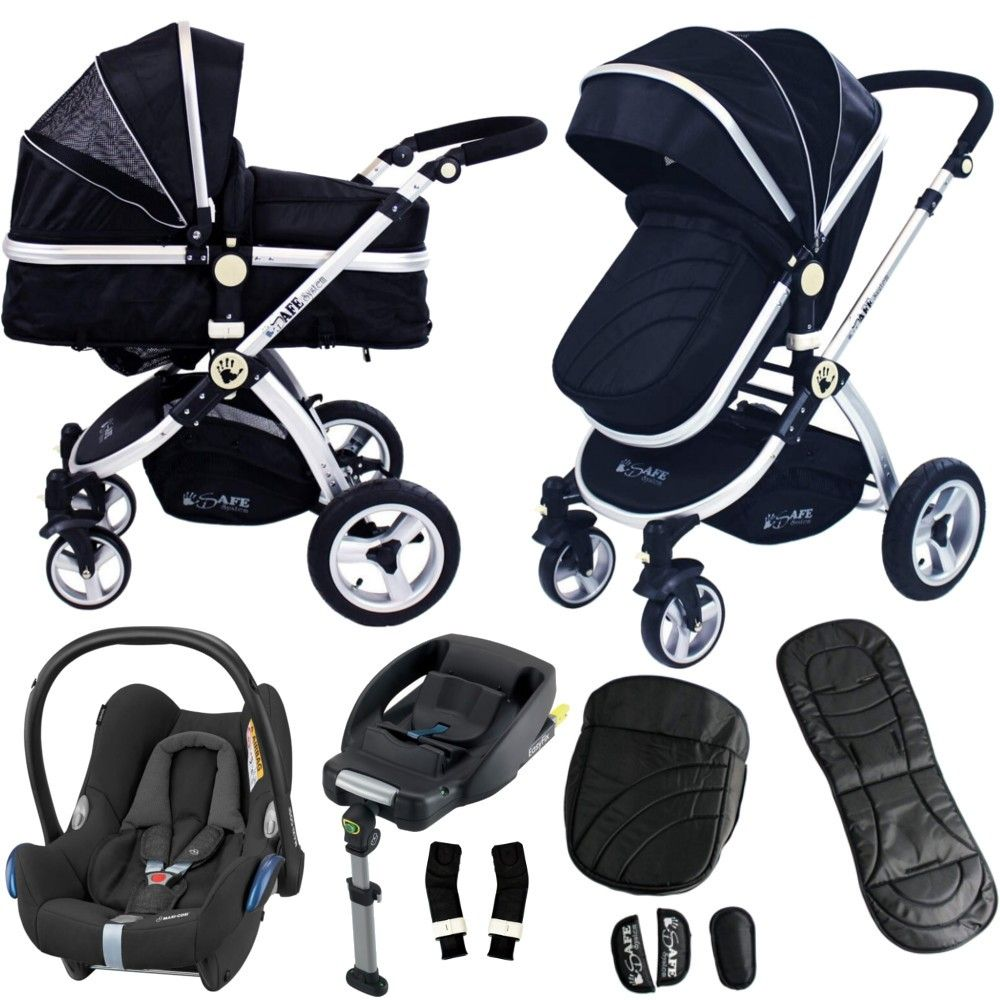 Click image to zoom the iSafe Pram System Maxi Cosi Travel