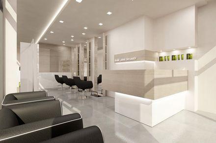 Mobili parrucchiere ~ Salone grecia vezzosi progettazione arredamenti per