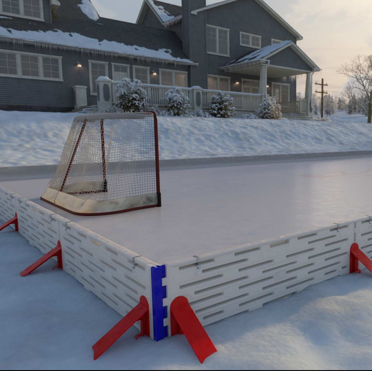 Build Your Own Ice Rink In Your Backyard In Just 1 Hour ...