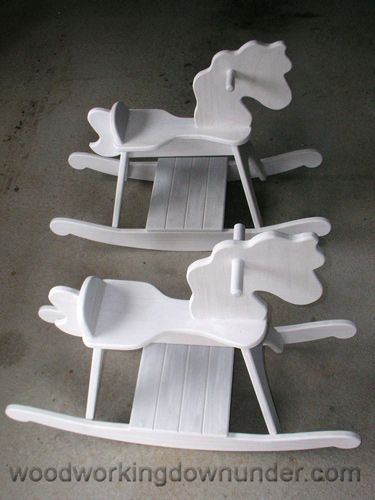 Free Rocking Horse Plan Instructions Included Woodworking Proect