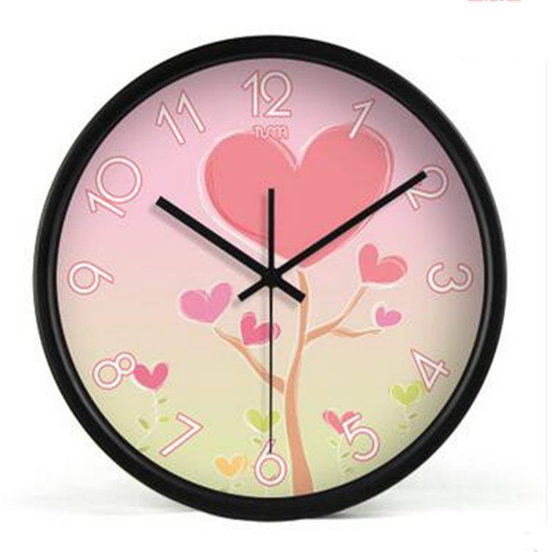 Bedroom Silent Large Wall Clock Watch Living Room Decorative Modern ...