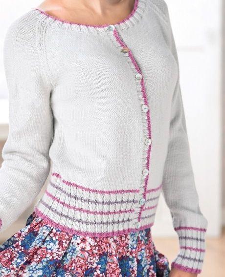 Letsknit Simple Cardigan Craft Ideas Pinterest Knitting