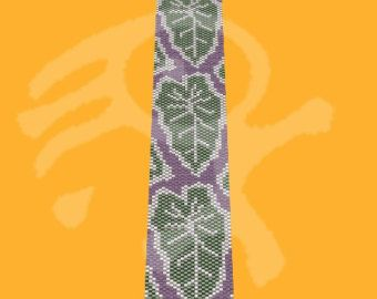 peyote pattern    Bracelet pattern for one drop peyote stitch.  This design, as charted, will be 1,7 wide by 6,3 long.  4.3cm X 16.1cm    Please note that my patterns do not include instructions about the peyote stitch.    PDF file contains: -word chart  - suggested delica colors  - large, detailed color graph of the pattern PDF file contains the pattern for create the jewelry, not the jewelry itself!  Materials and tools are not included.    I will send you the pattern by e-mail, after 24…