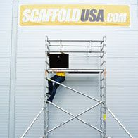 Scaffolds USA Inc. offer high quality rolling aluminum scaffolding, scaffolding and scaffold towers at reasonable prices for both small and big business. For more information, visit us: http://www.scaffoldusa.com/
