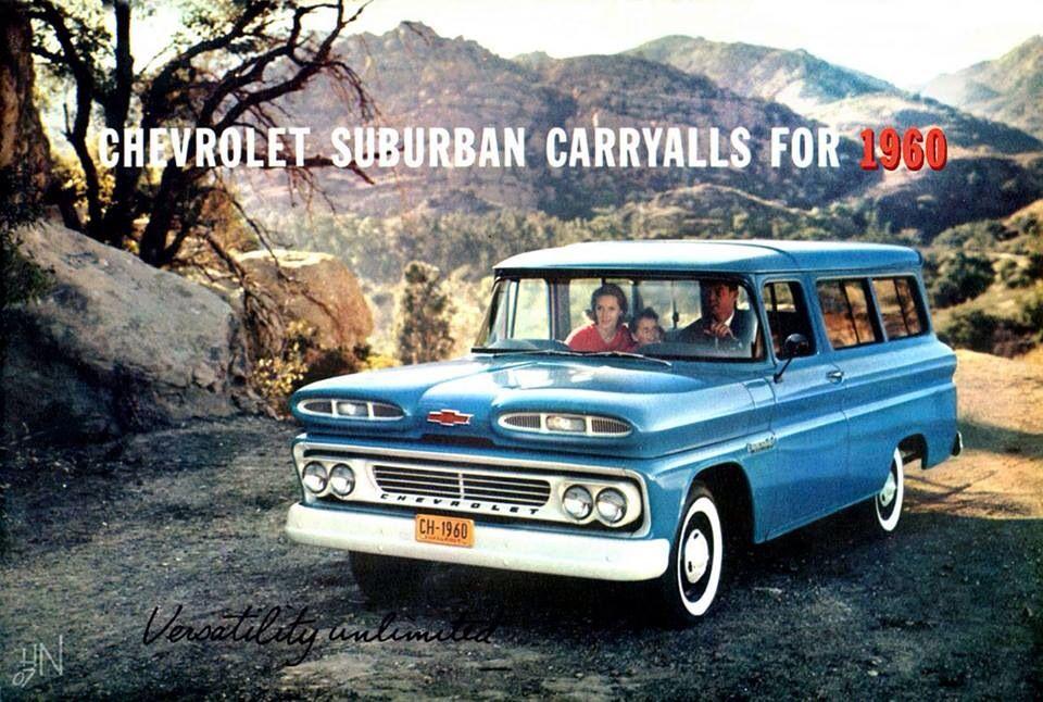 1960 Chevrolet Suburban On An Adventure Explore Travel