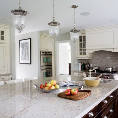 Houzz Kitchens White Cabinets Granite Counter Tops Give This