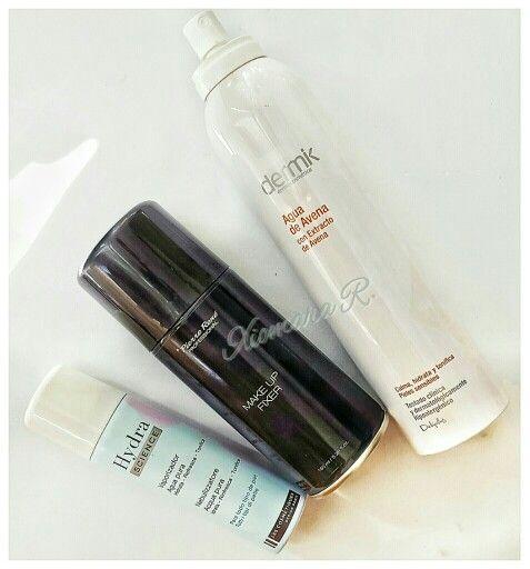 Estos Son Los Productos Que Uso Para Fijar él Maquillaje Cuando Me Acuerdo Claro Un Fijador Que Huele A Laca D Fijadores De Maquillaje Fijador Maquillaje