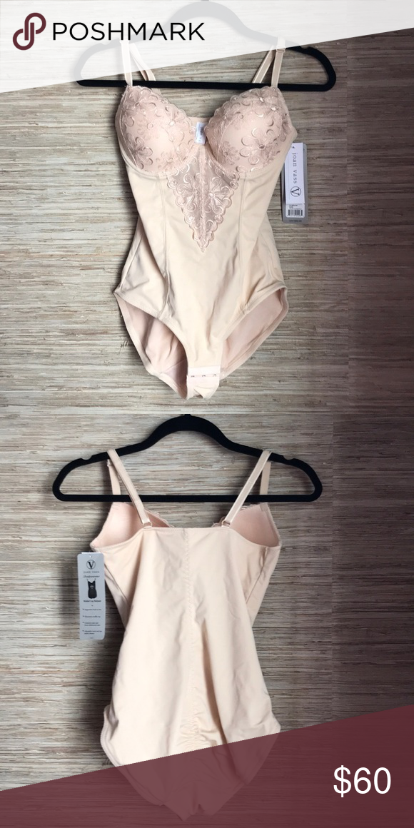 0daa60cd82 Molded Cup Bodysuit Never-been-worn Joan Vass molded cup bodysuit with  supportive built in bra