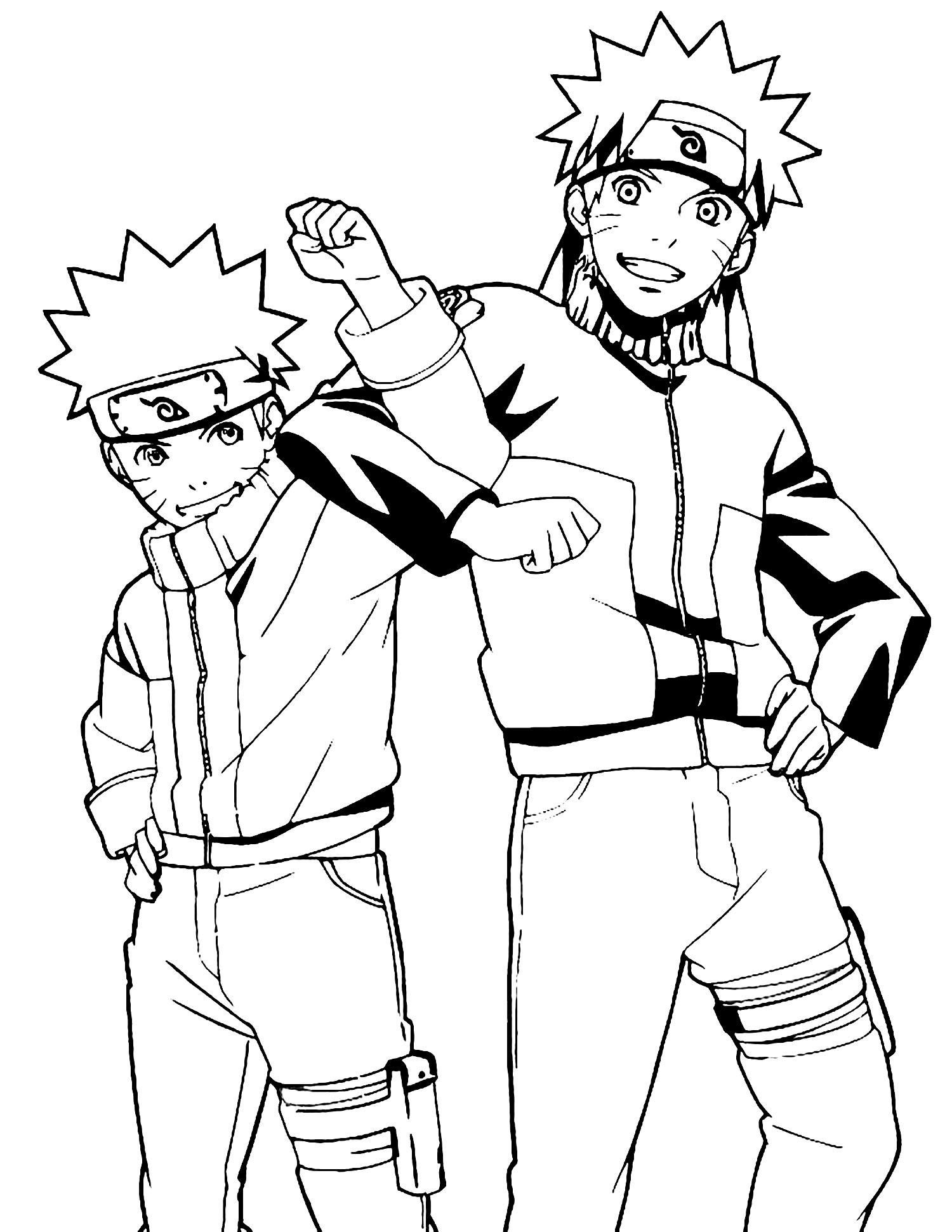 Fine coloring page naruto that you must know youre in