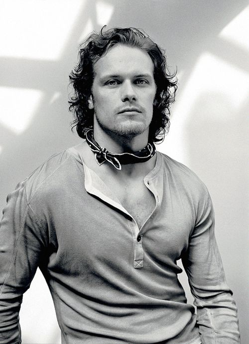 Sam Heughan photographed by David Bailey for Interview Magazine