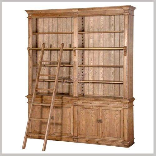 Library Bookcase Bookcase Oak Furniture Library Bookcase