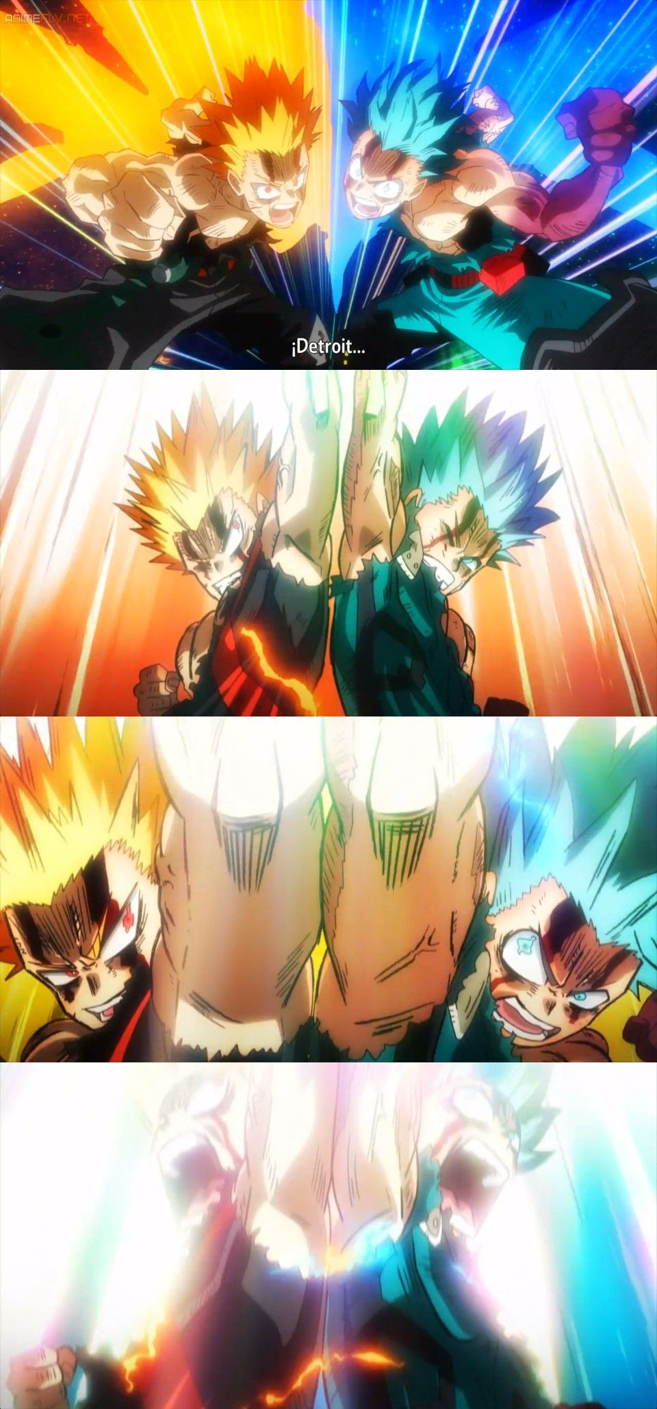 My Hero Academia Heroes Rising Poster Double Detroit Smash Vs Nine Anime Marvel Desenhos Legais