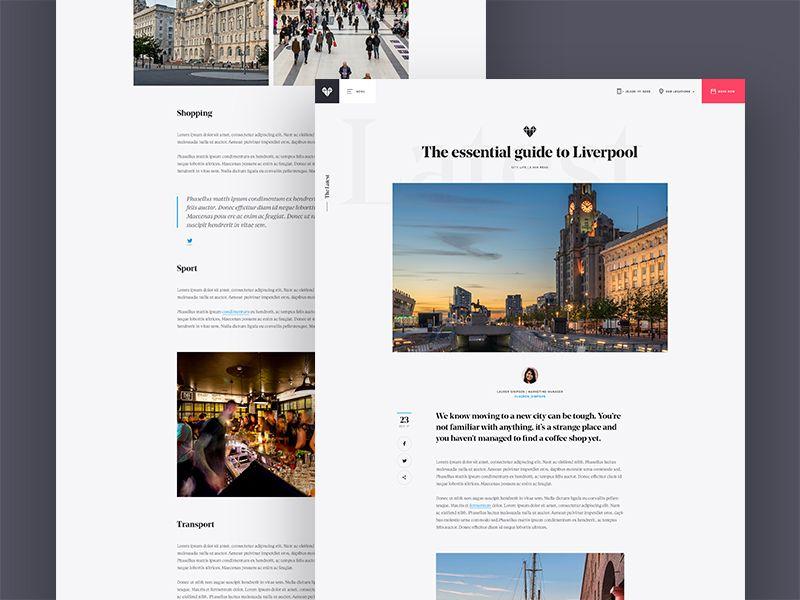 Blog Pages Blog Website Design Magazine Website Design Website Design Wordpress