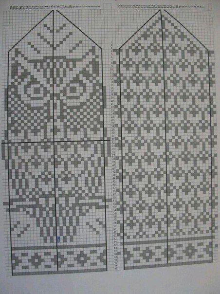 mittens | knitting | Pinterest