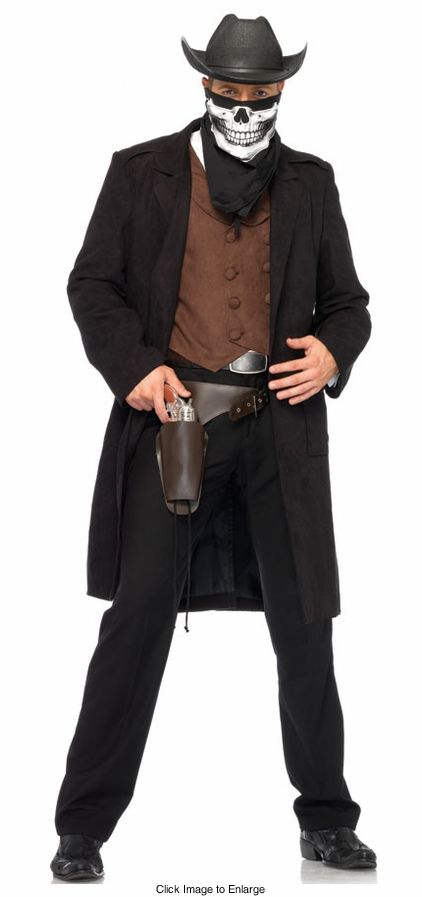 Reaper Bandit Cowboy Costume for Men for $74.95 | Costumes ...