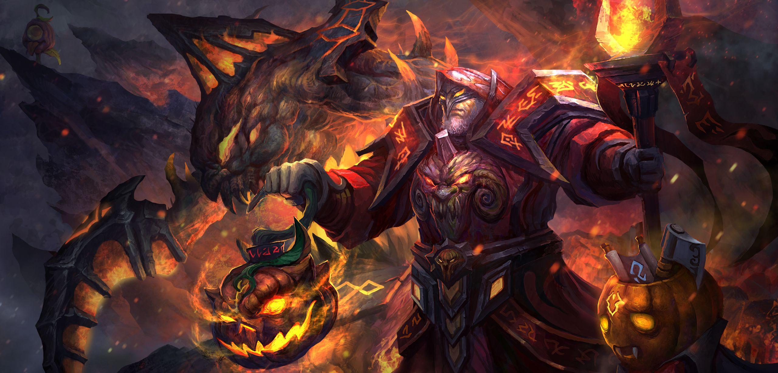 warlock: the simon's retribution wallpaper, more: http://dota2walls