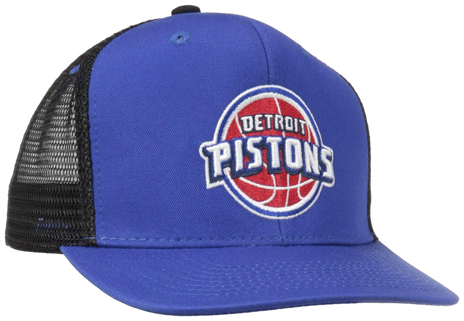 half off e6485 314a3 ... coupon nba detroit pistons snapback mesh back basic logo cap 14.75  61a76 25f15