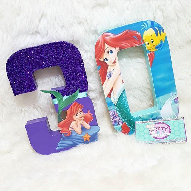 Mermaid Letter Decor Mermaid Letters Mermaid Wood Letters Mermaid